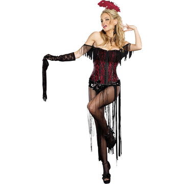Burlesque Beauty Lg - adult halloween costumes female Halloween costumes