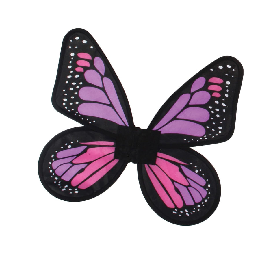 Butterfly Wings Satin Kids Costume Pink - Angel & Fairy Costume Robes Capes &