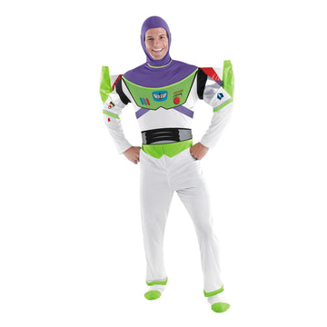 Buzz Lightyear Deluxe Adult Xl - adult halloween costumes Buzz Halloween Costume