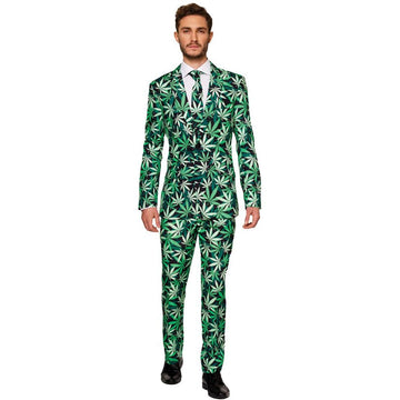 Cannabis Mens Costume Large - Mens Costumes New Costume