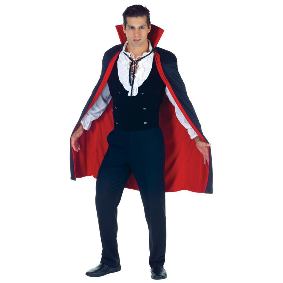 Cape Black-Red - Gothic & Vampire Costume Halloween costumes Robes Capes & Wings
