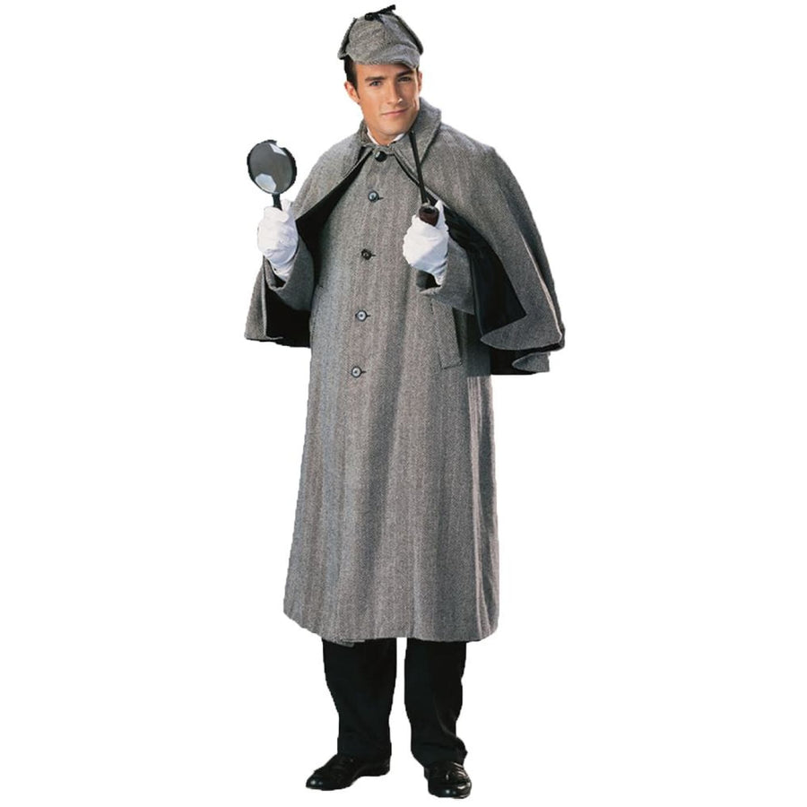 Cape Sherlock Holmes 1 Sz - adult halloween costumes halloween costumes male