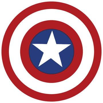 Captain America 6 Inch Shield - Halloween costumes Marvel Comics Costume