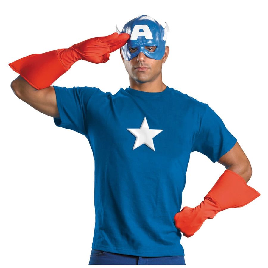 Captain America Kit Adult - adult halloween costumes Captain America Costume