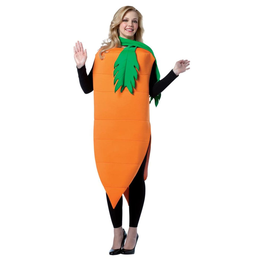 Carrot & Tie Adult Costume - adult halloween costumes Food & Drink Costume