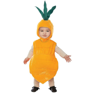 Carrot Toddler Costume 18-24 Months - Carrot Toddler Costume 18-24 Months
