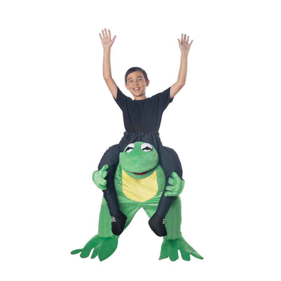 Carry Me Frog Kids Costume - Boys Costumes Girls Costumes New Costume
