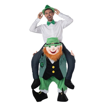 Carry Me Leprechaun Adult Costume - Mens Costumes New Costume Womens Costumes