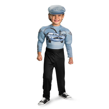 Cars 2 Finn Mcmissle Toddler Costume 3T-4T - Cars Halloween Costume Disney
