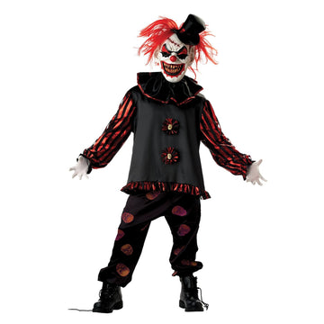 Carver The Clown Boys Costume Lg - Clown & Mime Costume clown costumes Halloween
