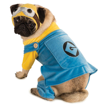Cat & Dog Costume Minion Sm - Dog Costume dog costumes Dog Halloween Costume
