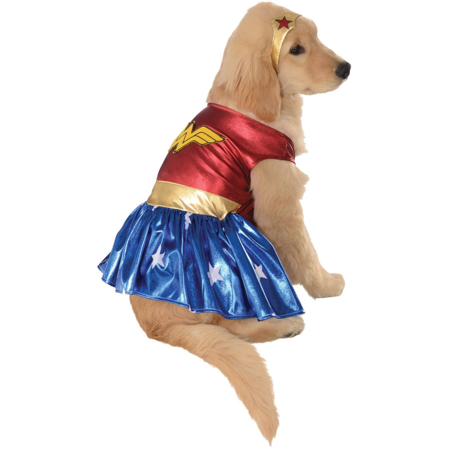 Cat & Dog Costume Wonder Woman Lg - Dog Costume dog costumes Dog Halloween