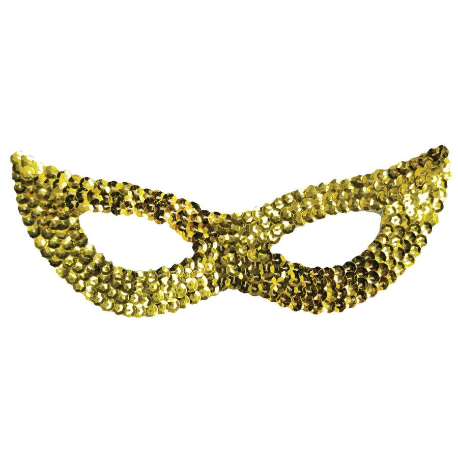 Cat Mask Sequin Gold - Cat Halloween Costume Costume Masks Halloween costumes
