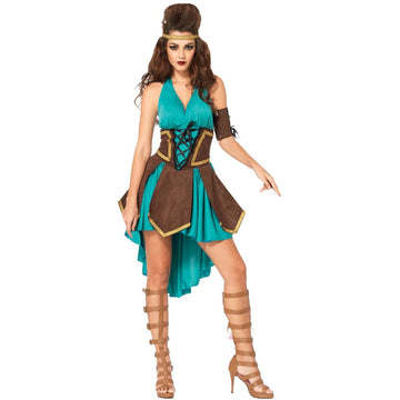 Celtic Warrior Adult Costume Small-Medium - adult halloween costumes female