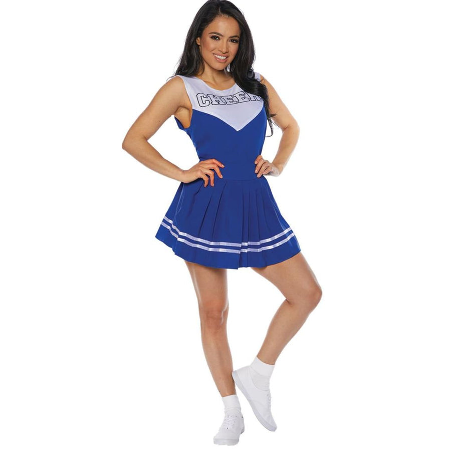 Cheer Womens Costume Blue Lg - Cheer Womens Costume Blue Lg Halloween costumes