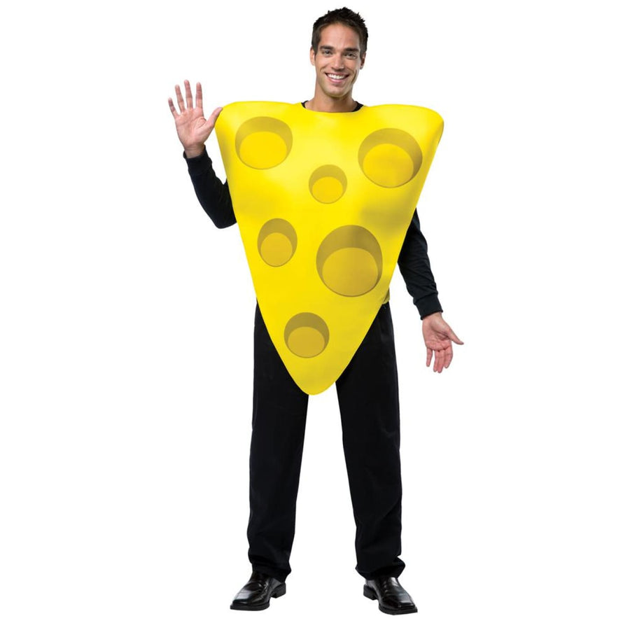 Cheese Adult Costume - adult halloween costumes Food & Drink Costume halloween