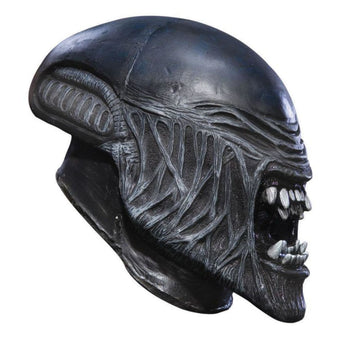 Child Alien Vinyl Mask - Alien Costume Child Halloween Costume Costume Masks