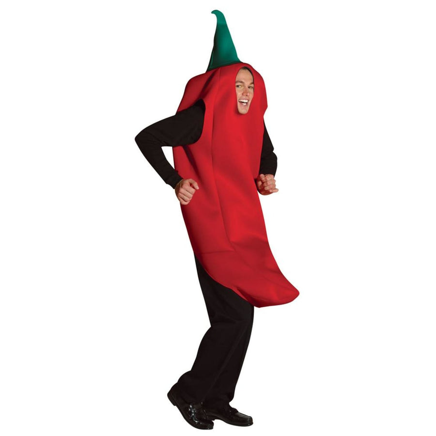 Chili Pepper Adult Costume - adult halloween costumes female Halloween costumes