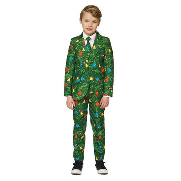 Christmas Green Tree Boys Costume Large - Boys Costumes New Costume