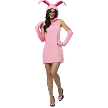 Christmas Story Bunny Dress Adult Costume - adult halloween costumes female