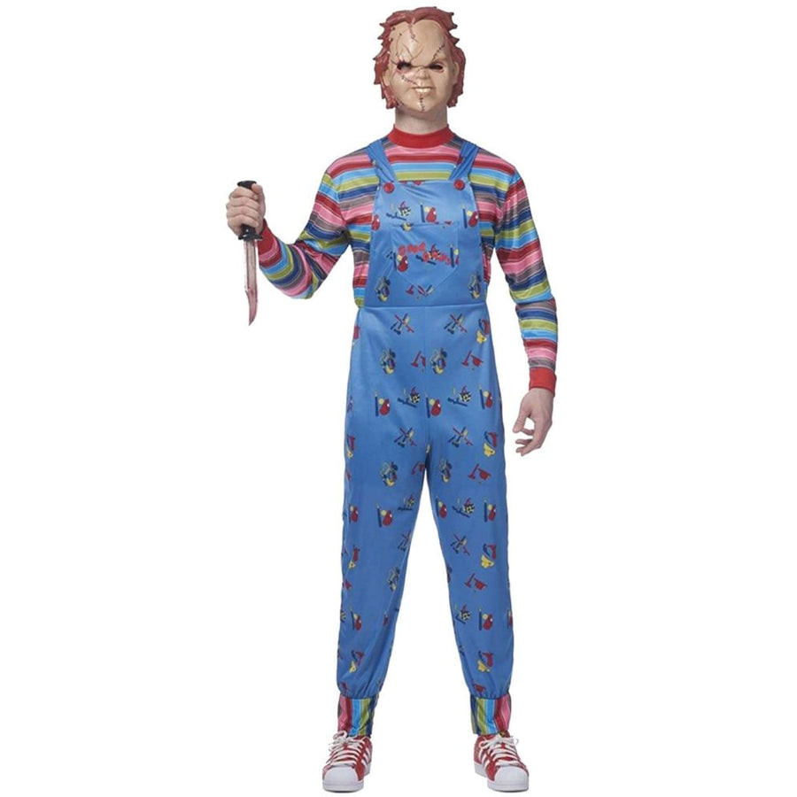 Chucky Adult Costume Standard - adult halloween costumes halloween costumes Mens