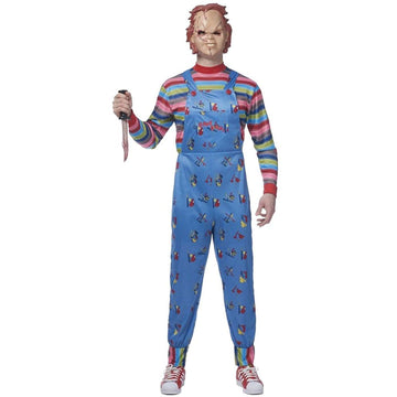 Chucky Adult Costume XLg - adult halloween costumes halloween costumes Mens