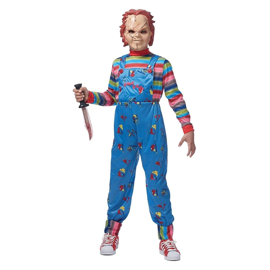 Chucky Boys Costume Md-Lg - Boys Costumes Halloween costumes New Costume Serial