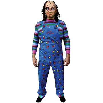 Chucky ChildsPlay 2 Adult Costume - Chucky ChildsPlay 2 Adult Costume Halloween