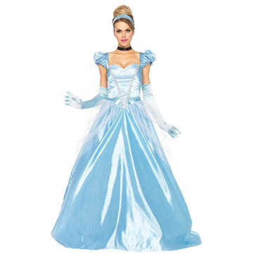 Cinderella Classic 3 Piece Adult Costume Large - adult halloween costumes Disney