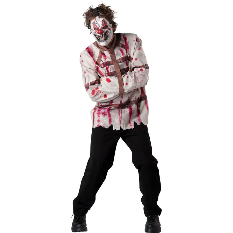 Circus Psycho Adult Costume XL - Clown & Mime Costume clown costumes Halloween