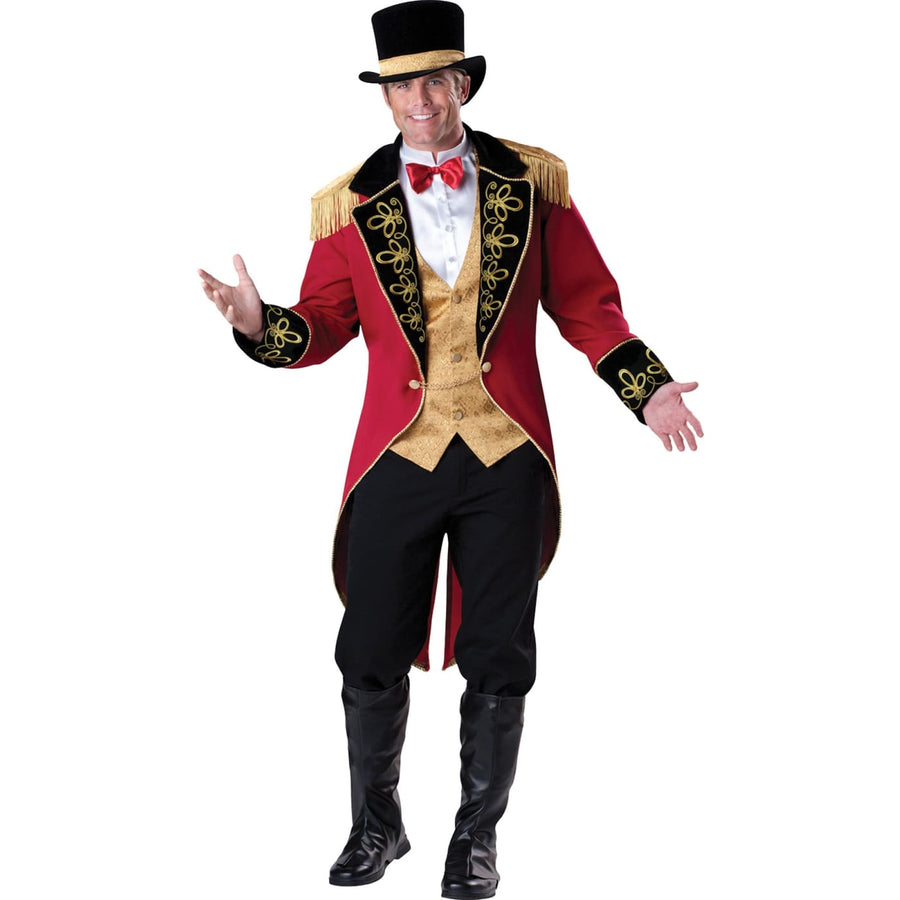 Circus Ring Master Adult Costume Lg - Circus Halloween Costume Halloween