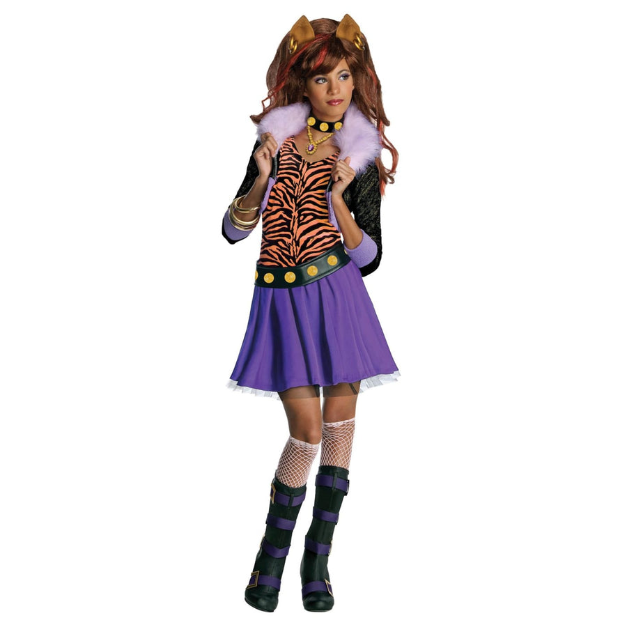 Clawdeen Wolf Sm - Animal & Insect Costume Girls Costumes girls Halloween