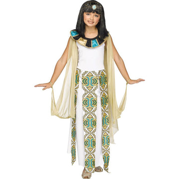 Cleopatra Kids Costume Small 4-6 - Egyptian Costume Girls Costumes Halloween