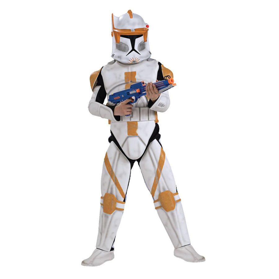 Clonetrooper Cody Deluxe Boys Costume Small - Boys Costumes boys Halloween
