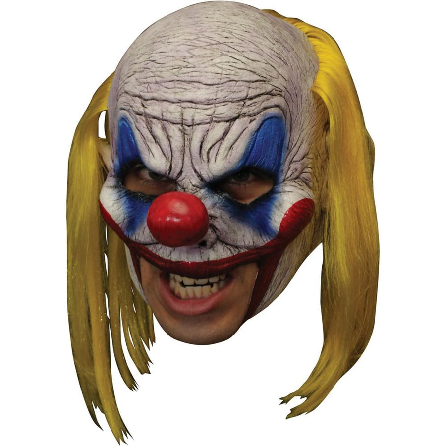 Clooney Clown Chinless Deluxe Mask - Clown & Mime Costume clown costumes