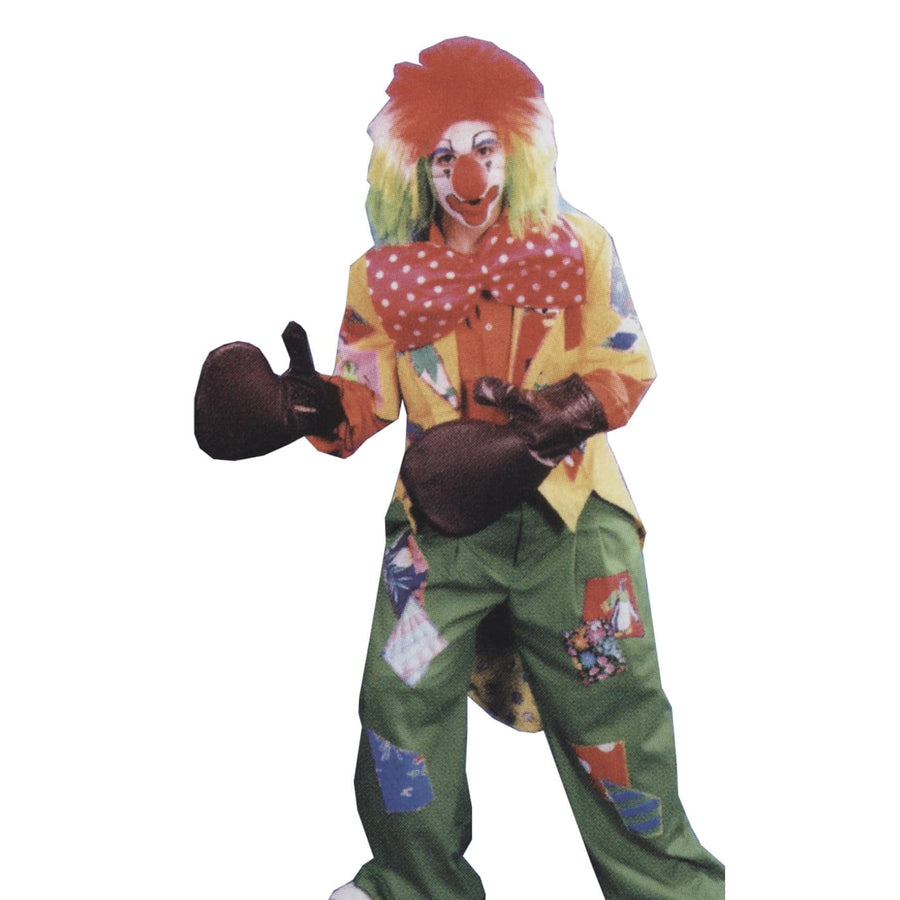 Clown Boxing Glove Set 4 Gloves - Clown & Mime Costume clown costumes Halloween