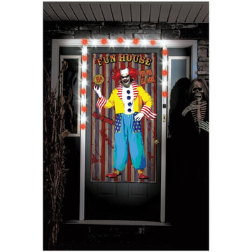 Clown Creepy Greeters Light Sound Prop - clown costumes Clown Creepy Greeters