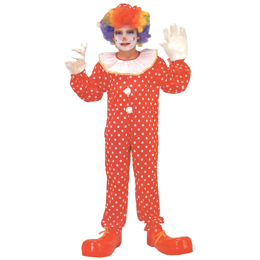 Clown Deluxe Boys Costume Lg - Clown & Mime Costume clown costumes Halloween