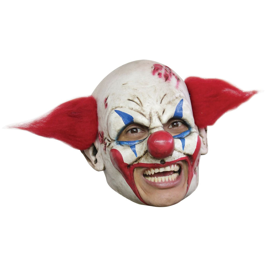 Clown Deluxe Chinless Adult Mask - Clown & Mime Costume clown costumes Halloween