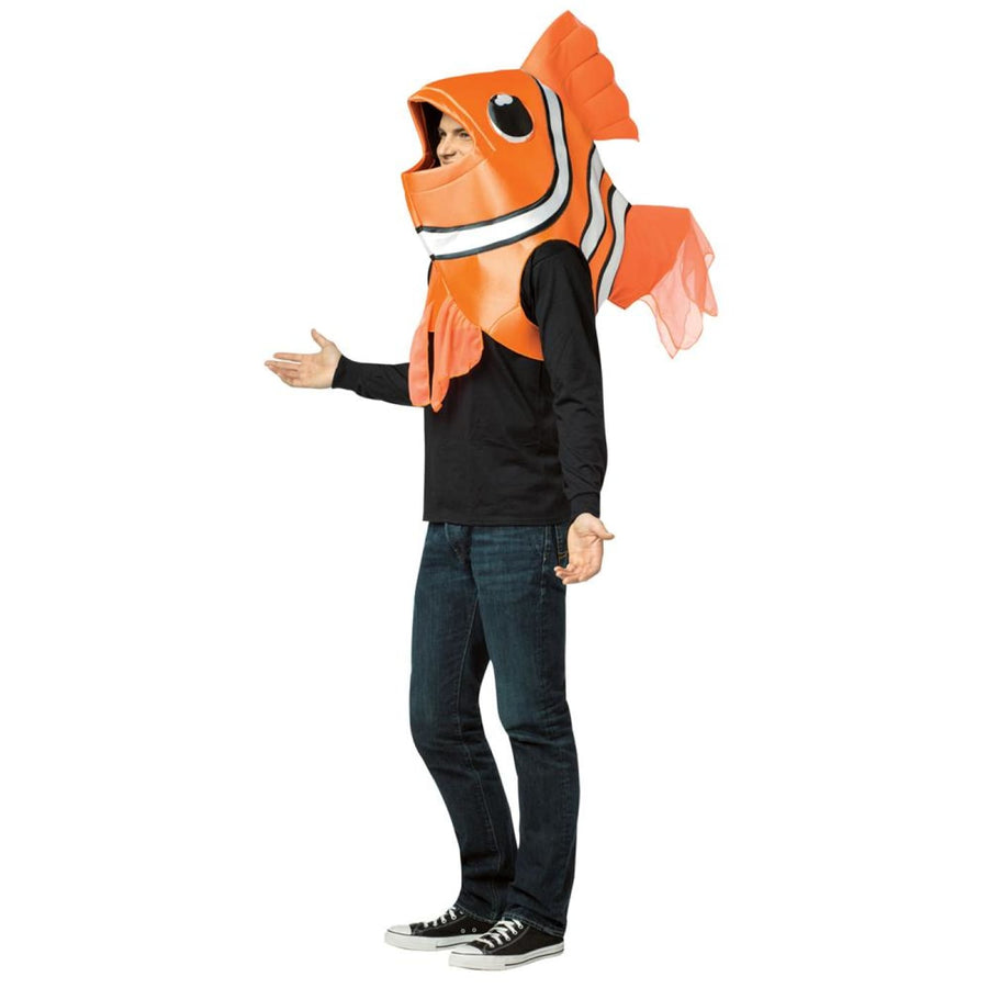 Clown Fish Adult Costume - clown costumes Halloween costumes Mens Costumes