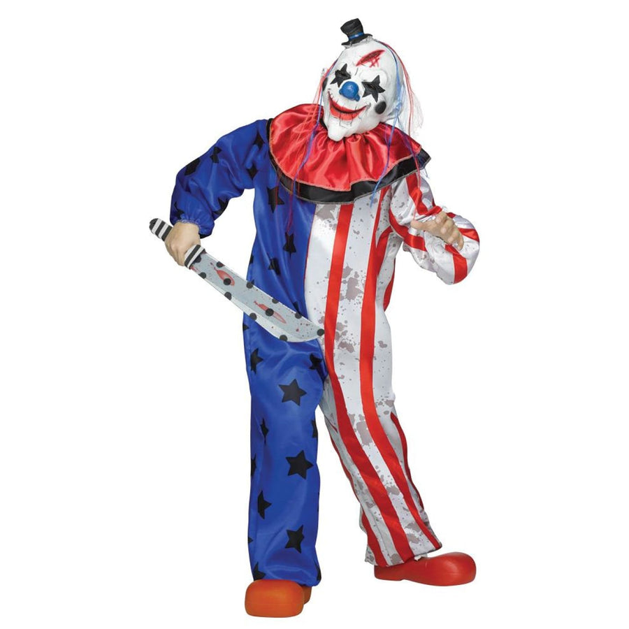 Clown Mens Costume Lg - adult halloween costumes clown costumes Clown Mens