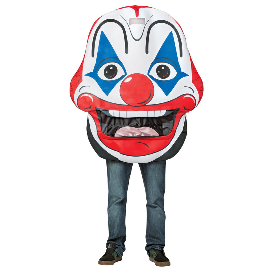 Clown Mouth Head - adult halloween costumes Clown & Mime Costume clown costumes