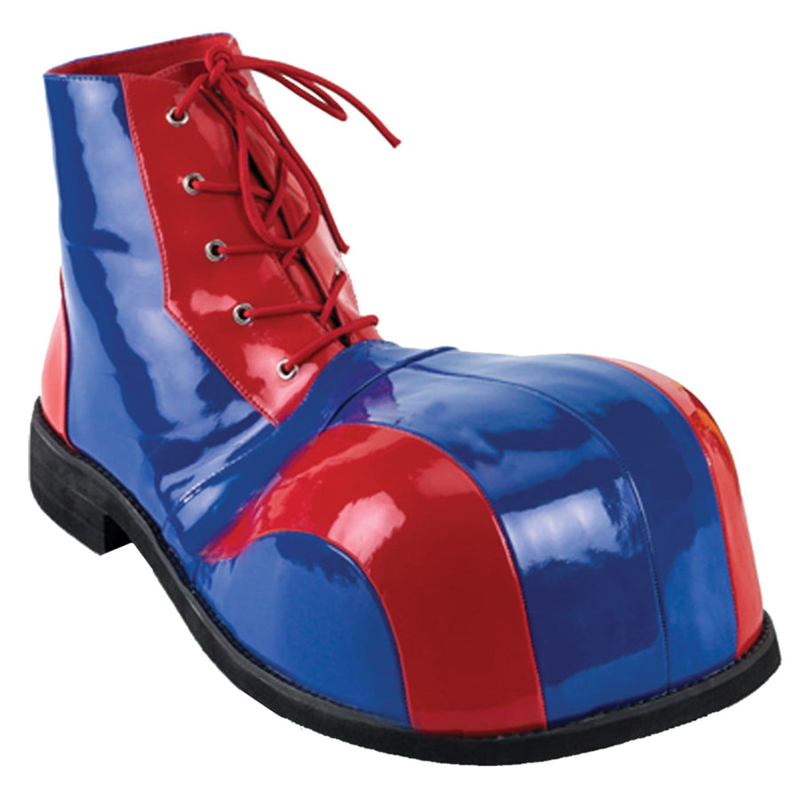 Clown Shoes Patent Red & Blue - Clown & Mime Costume clown costumes Halloween