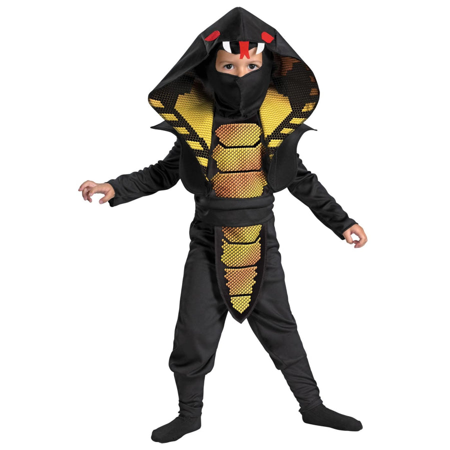 Cobra Ninja Toddler Costume 3T-4T - Animal & Insect Costume G.I. Joe Costume