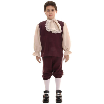 Colonial Boys Costume Lg - Boys Costumes Colonial Halloween Costume Halloween