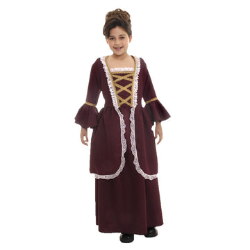 Colonial Girl Lg - Colonial Halloween Costume Girls Costumes girls Halloween