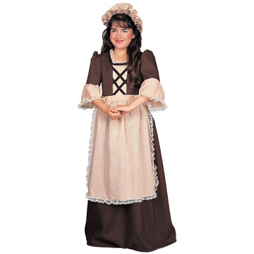 Colonial Girl Lg - Halloween costumes Historical Costume