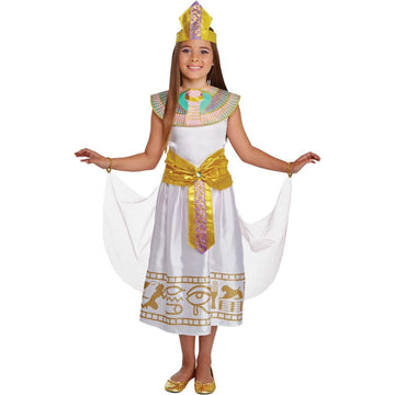 Colorful Cleo Girls Costume Sm - Egyptian Costume Girls Costumes Halloween