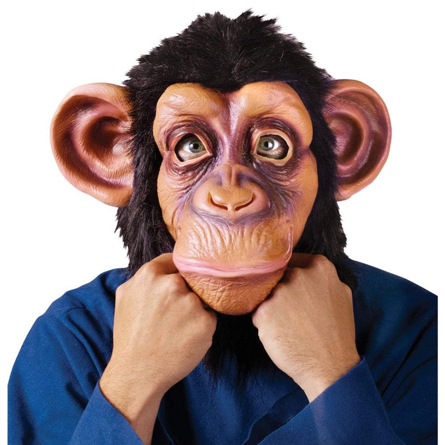 Comic Chimp In Lazy Song Mask - Animal & Insect Costume Costume Masks Halloween