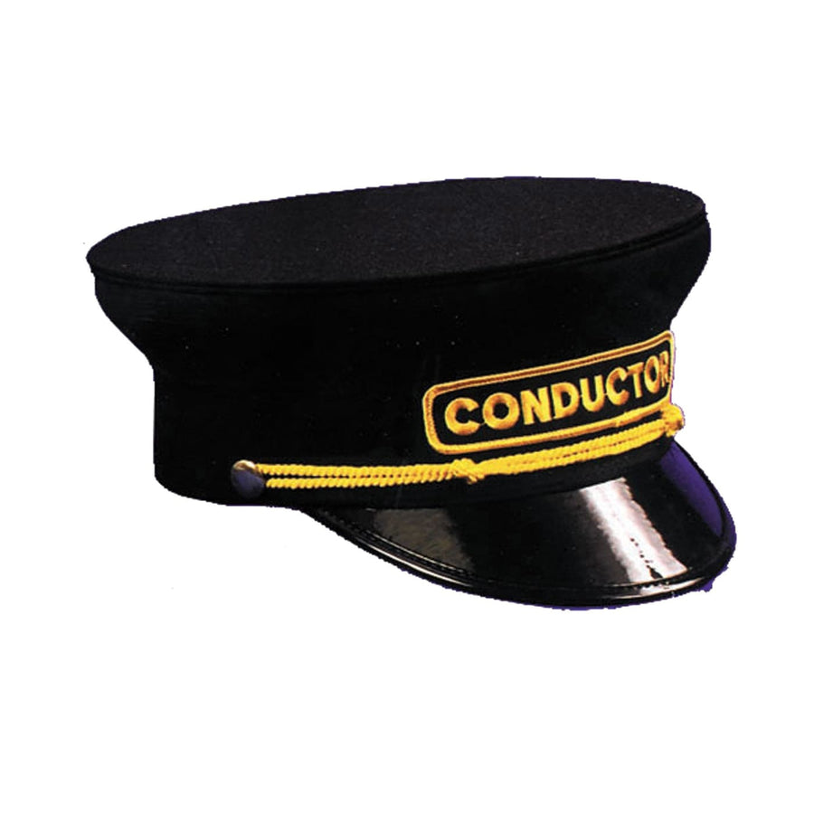 Conductor Hat 7 1/8 7 1/4 - Halloween costumes Hats Tiaras & Headgear Military &